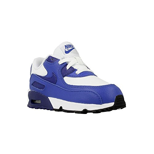 Nike - Air Max 90 Ltr TD - 833416105 - Couleur: Blanc-Bleu - Pointure: 23.5