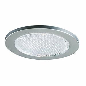 Cooper Lighting 951SNS 4 Inch Trim Lensed Showerlight Satin Nick