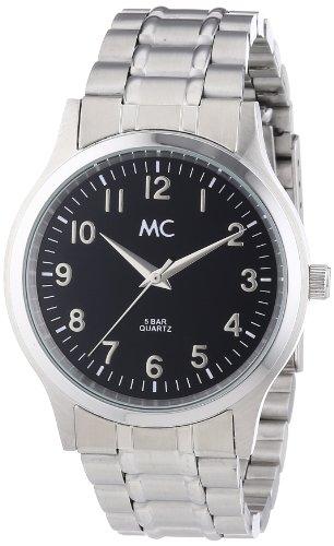 MC Timetrend Herren-Armbanduhr Analog Quarz Edelstahl 27540