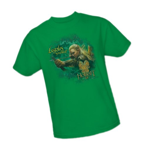 Greenleaf -- The Hobbit: The Desolation Of Smaug Adult T-Shirt