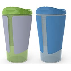 Born Free BPA-Free Grow with Me 10 oz. Big Kid Spoutless Cup, 2 Count
