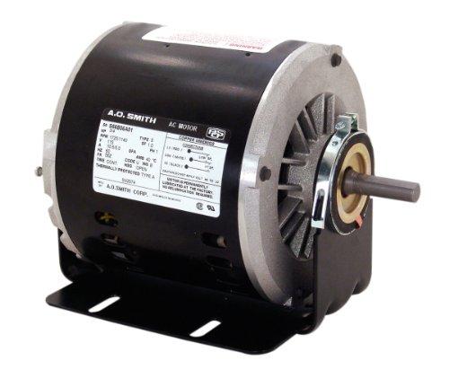 A O Smith Svb2034b 1 3 1 10 Hp 1725 1140 Rpm 56z Frame Reversible Rotation 1 2 Inch By 1 5