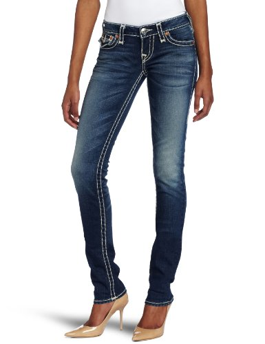 True Religion Women's Julie Natural Super T Jean, Pioneer, 27