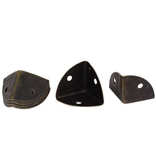 25mm-tono-bronce-metal-caja-armario-protectores-de-esquina-guardias-8-piezas