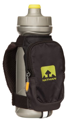 Nathan Nathan Quick Draw Plus Handheld Hydration Pack, Black