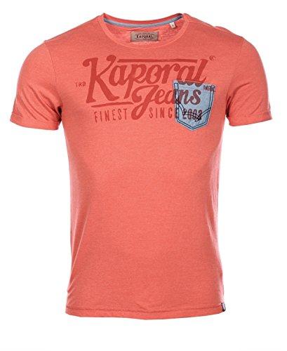 Kaporal Jeans - Kaporal Tshirt Fino Paprika - L, rosso