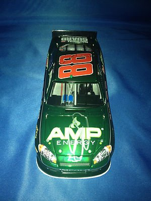 DALE EARNHARDT JR SIGNED 2012 AMP ENERGY COLOR CHROME 1/24 Diecast COA - Autographed NASCAR Diecast Cars