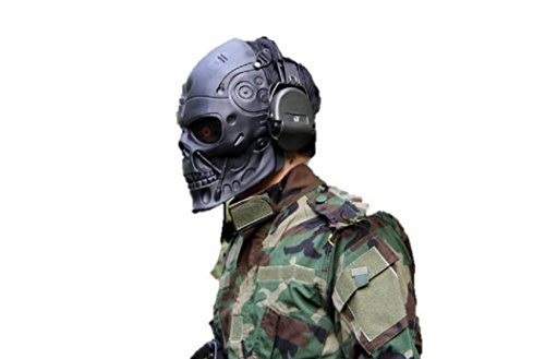 Halloween New Product Terminator Riding Mask CS Field Protective Mask