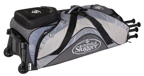 Louisville Slugger EB 2014 Series 9 Rig Baseball Bag, Platinum