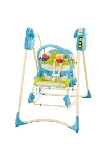 Fisher-Price modelo P6946 hamaca bebe automatica pajaritos - 4