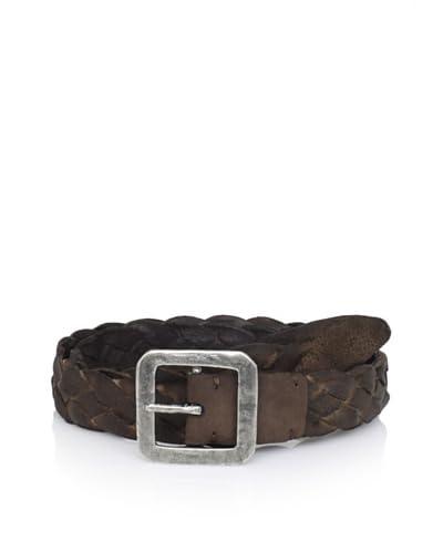 John Varvatos Collection Men's Braided Belt  [Brown]