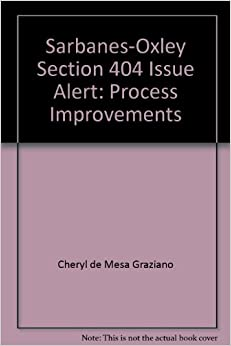 Sarbanes-Oxley Section 404 Issue Alert: Process