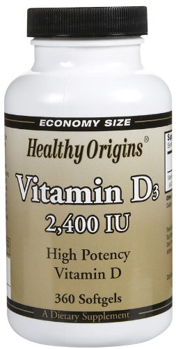 Healthy Origins Vitamin D3 2400Iu 360 Sgel ( Multi-Pack)