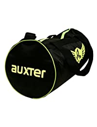 Auxter Polyester Gym Bag, Black