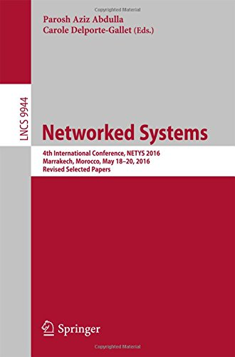 networked-systems-4th-international-conference-netys-2016-marrakech-morocco-may-18-20-2016-revised-s