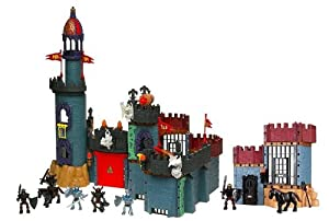 : Imaginext Battle Castle With Enemy Dungeon, Medieval: Toys & Games