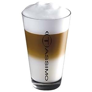 Original Tassimo Latte-Macchiato-Gläser von Ritzenhoff, 2er Pack