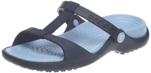 Crocs Cleo III Women Womens Footwear, Size: 7 B(M) US Womens, Color: Navy/Light Blue