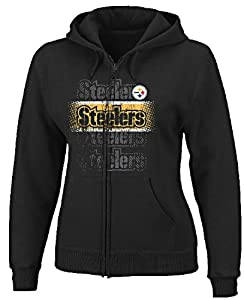 Pittsburgh Steelers Womens Football Classic IV Full-Zip Hooded Sweatshirt by VF from VF