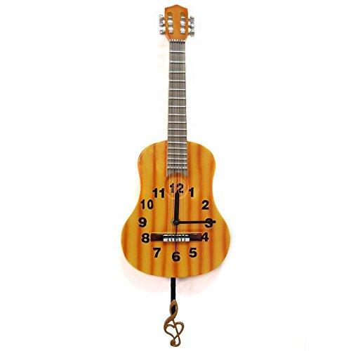 Giftgarden-moderne-Gitarre-Uhr-mit-Pendel