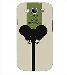 PrintDhaba Quote D-1432 Back Case Cover for SAMSUNG GALAXY S3 (Multi-Coloured)