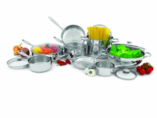 Wolfgang Puck 14-Piece Cookware Set (Pots And Pans Set Wolfgang compare prices)