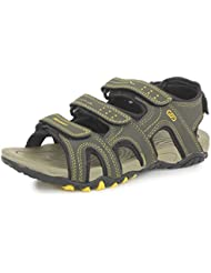 SRV Men's VibeX Green Sandals & Floaters