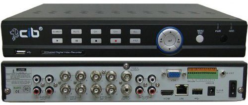 CIB K808AV H.264 8 CH Network Security Surveillance DVR Recording System (No Hard disk driver included)