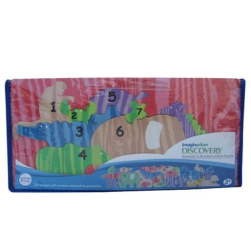 Imaginarium Animal Counting Parade Foam Puzzle