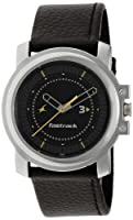 Fastrack Economy Analog Black Dial Men's Watch - NE3039SL02