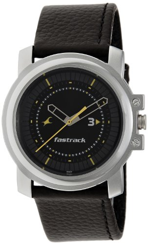 Fastrack-Economy-Analog-Black-Dial-Mens-Watch-NE3039SL02