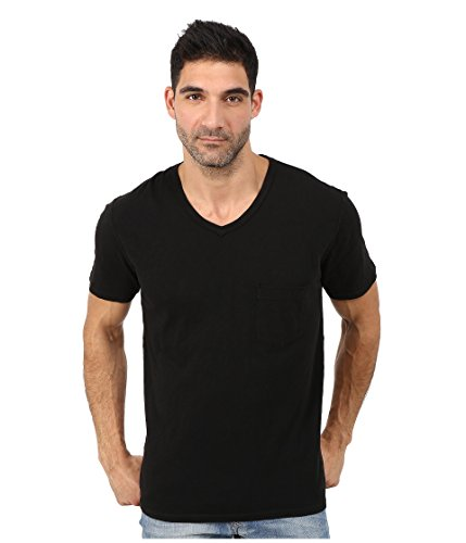 7-for-all-mankind-mens-short-sleeve-v-neck-tee-black-100-cotton-small