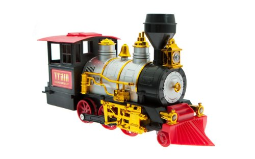 20 Piece Classic Train Set with Smoke, Sound and Light