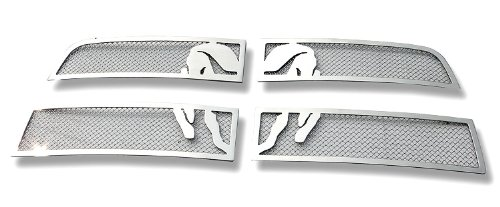 Fits 2010-2012 Dodge Ram 2500/3500 Symbolic Stainless Steel Mesh Grille Grill # D76864B (Dodge Ram 2500 Grill Emblem compare prices)