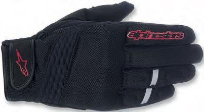ALPINESTARS Asama Glove Textile Black/Red X-Large