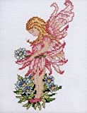 Forget-Me-Not Fairy Cross Stitch Kit