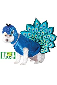 Animal Planet Peacock Dog Costume, Multicolor by California Costume Collections
