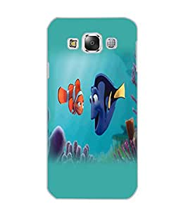 SAMSUNG GALAXY E5 FISH Back Cover by PRINTSWAG