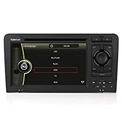 See Koolertron (TM) For 2003 2004 2005 2006 2007 2008 2009 2010 Audi A3 with Original 2-din Stereo Indash DVD GPS Navigation Radio System AV Receiver with 7 Inch Digital TFT LCD TouchScreen Monitor (Factory Fit, Free Map) Details