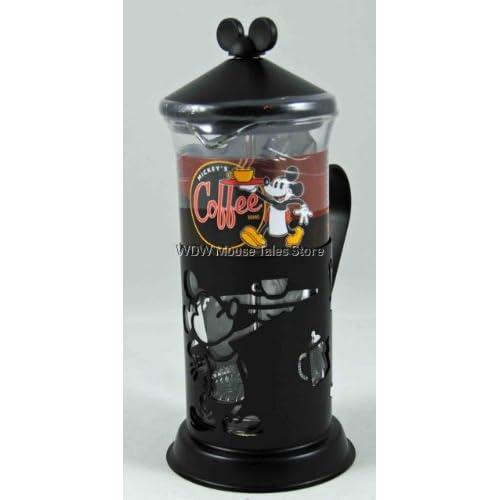 Amazon.com: Disney World Mickey Mouse Glass French Coffee