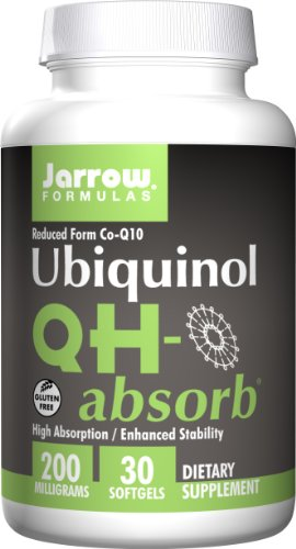 Jarrow Formulas QHーAbsorb, 30 Sft gels 200 Mg