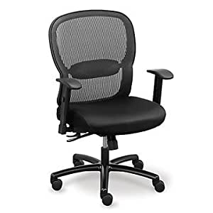 Amazon Big and Tall Memory Foam puter Chair in
