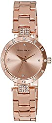 Giordano Analog Gold Dial Womens Watch - A2019-44