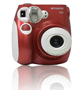 Polaroid PIC-300R - 300 Instant Camera - Red