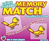 MEMORY MATCH COLORS and SHAPES