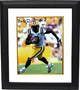 Autographed Early Doucet Photograph - LSU Tigers 8x10 07 Champs Custom Framed -... by Sports+Memorabilia