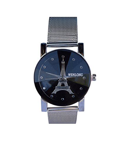 CREATOR WENLONG Black designer watch for women