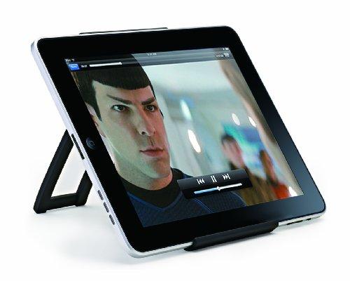 リンクス iPad、タブレットPCに対応したポータブルスタンド 厚みわずか25mmのフラット設計! 軽量で持ち運びも簡単 iCarry Bookstand IH920