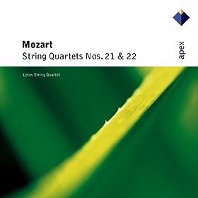 Mozart : String Quartet No.22 in B flat major K589 : II Larghetto