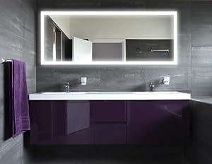 Badspiegel mit LED Beleuchtung - New York M303L4